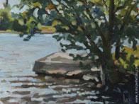 Peintures, pochades en plein air (sur le motif)